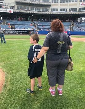 autism awareness, baseball, syracuse, mets